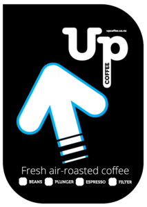Coffee Fresh Air Roasted in store Fair trade organic