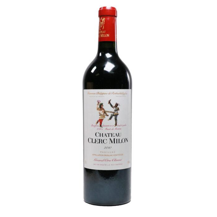 Chateau Clerc Pauillac Bordeaux Blend 2010 750ml